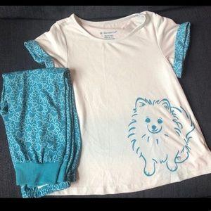 American girl Coconut the dog pajamas for girls